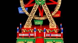 19736 Mr. Christmas Mini Carnival Music Box - Ferris Wheel Video
