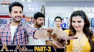 A AA Hindi Dubbed Movie Part 3 | Nithiin, Samantha, Anupama Parameshwaran | Trivikram