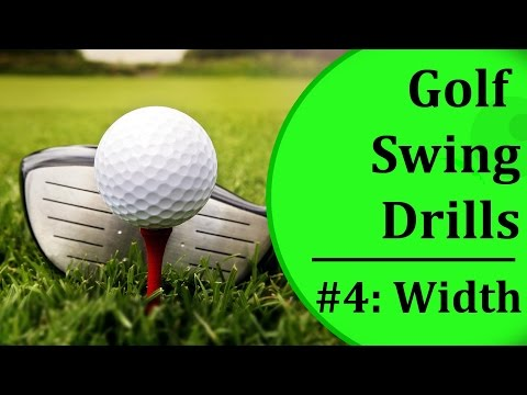 Simple Golf Swing Drills For Beginners – #4: Swing Width | Learn-To-Golf.com