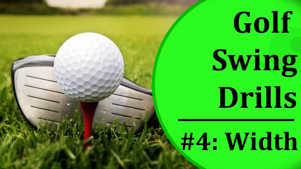Simple Golf Swing Drills For Beginners - #4: Swing Width | Learn ...