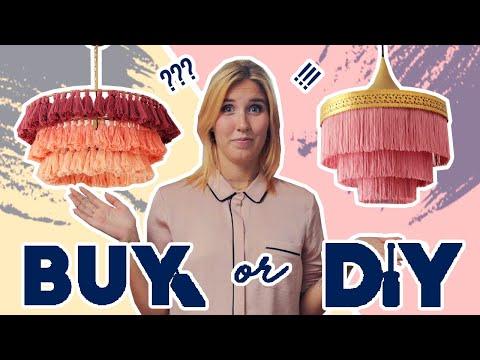 Stunning Fringe Chandelier Buy or DIY Challenge feat. Alyssa Garrison (Random Acts of Pastel)