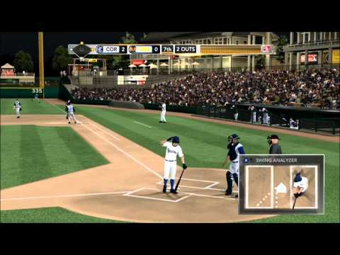 MLB 2K11: My Player Mode - Character Creation and First Full Game