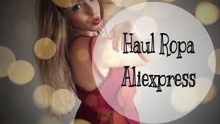 Haul Ropa Aliexpress