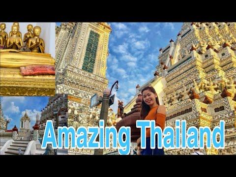 WAT ARUN   DAMNOEN SADUAK FLOATING MARKET   Bangkok Vlog Day 1