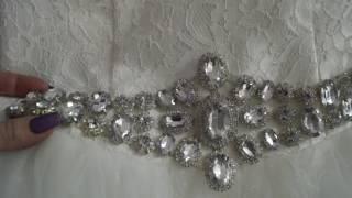 Свадебное платье с Алиэкспресс , красивое !!Недорогое.