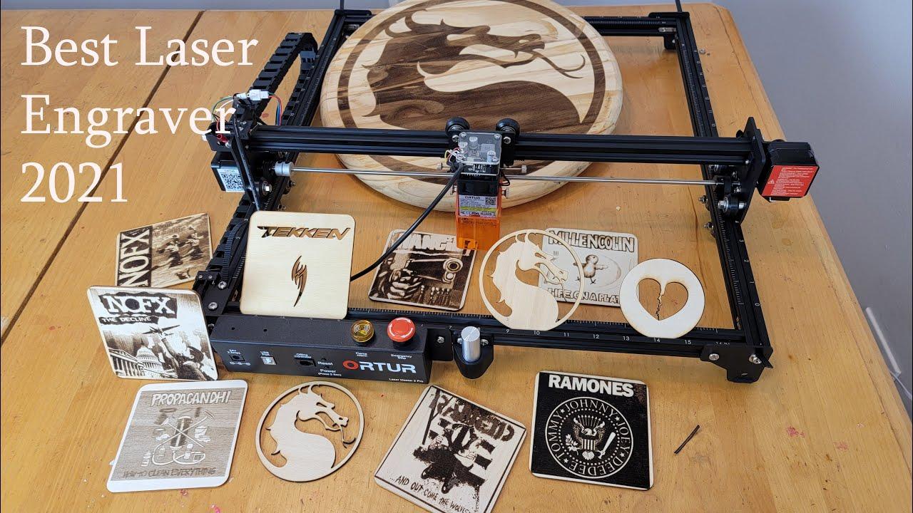 Ortur Laser Master 2 Pro Laser Engraver Unboxing & Review. Best Laser Engraver Under $500