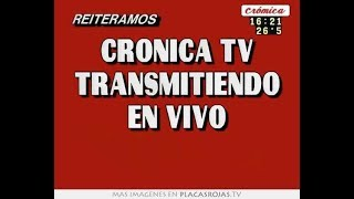 Cronica Tv En Vivo