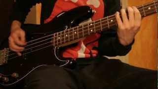 Rolling Stones Fingerprint File Bass Cover