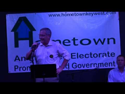 """Hometown!'s """" Meet the Candidates"""" at The Studios of Key West- June 24, 2016"""