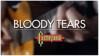 Bloody Tears (Castlevania II) Guitar Cover | DSC