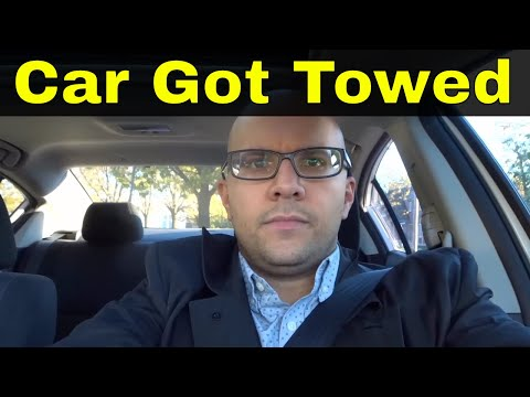 What To Do If Your Car Gets Towed