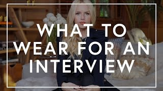 The Extra 5 With Rachel Zoe | What To Wear For A Job Interview