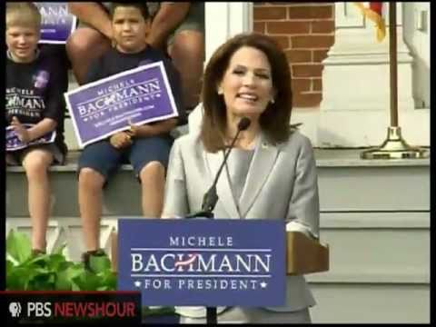 Michele Bachmann Enters 2012 GOP Field
