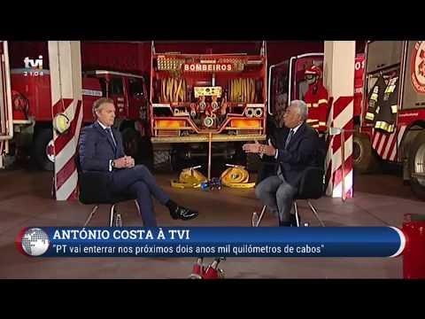 Entrevista António Costa - TVI - Excerto