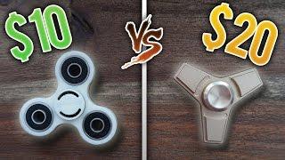 $10 vs $20 Fidget Spinner!