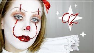 AZ/Pennywise Smink Inspiráció Halloweenre | AvianaRahl