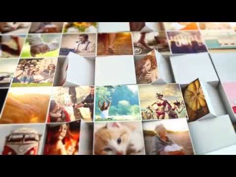 After Effects Template - Mosaic Block Reveal