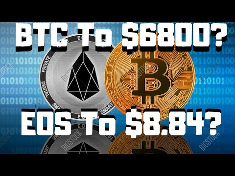 BTC TO $6800? EOS TO $8.84? These 2 Indicators Show Us A BIG Move Is Coming!
