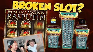 BIG WIN!!! Rasputin BIG WIN - DONT SAY HIS NAME - Casino games (gambling)