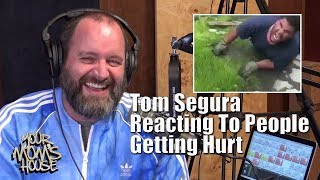 Tom Segura Reacts To People Getting Hurt - YMH Highlight