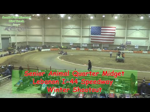 Senior Animal Quarter Midget - I-44 Speedway Winter Shootout 1-19-2018