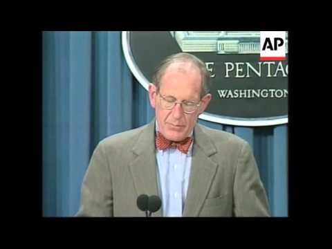 USA: IRAQ THREATS TAKEN SERIOUSLY