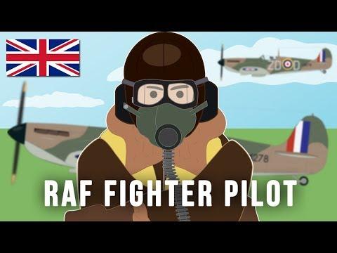 RAF Fighter Pilot World War II