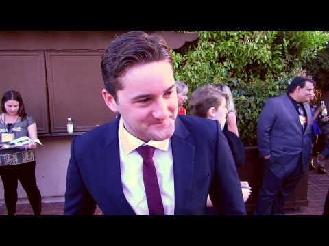 EXCLUSIVE  Emmett Skilton talks about Kiwi comedy The Almighty Johnsons at the Saturn Awards