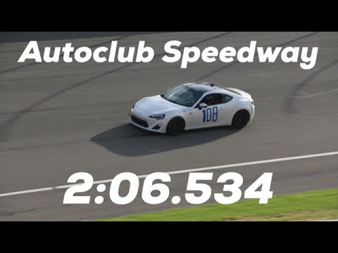 Spinning out in the first session... Autoclub Speedway in the FRS Racecar