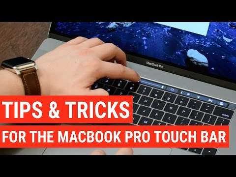 20 Touch Bar Tips & Tricks for the New MacBook Pro