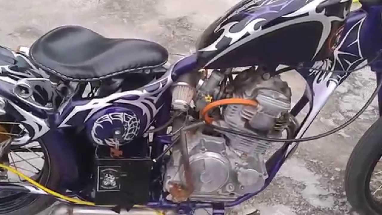 motor modifikasi chopper  paling bagus