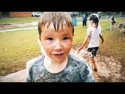 Gentry Intermediate school foam fun run!