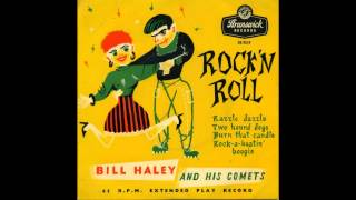 Watch Bill Haley  His Comets Two Hound Dogs video