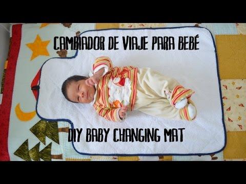 Cambiador de viaje para beb diy baby changing mat youtube - Cambiador bebe para comoda ...