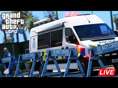 Police Van! - GTA 5 Police Roleplay - LSPDFR New Zealand