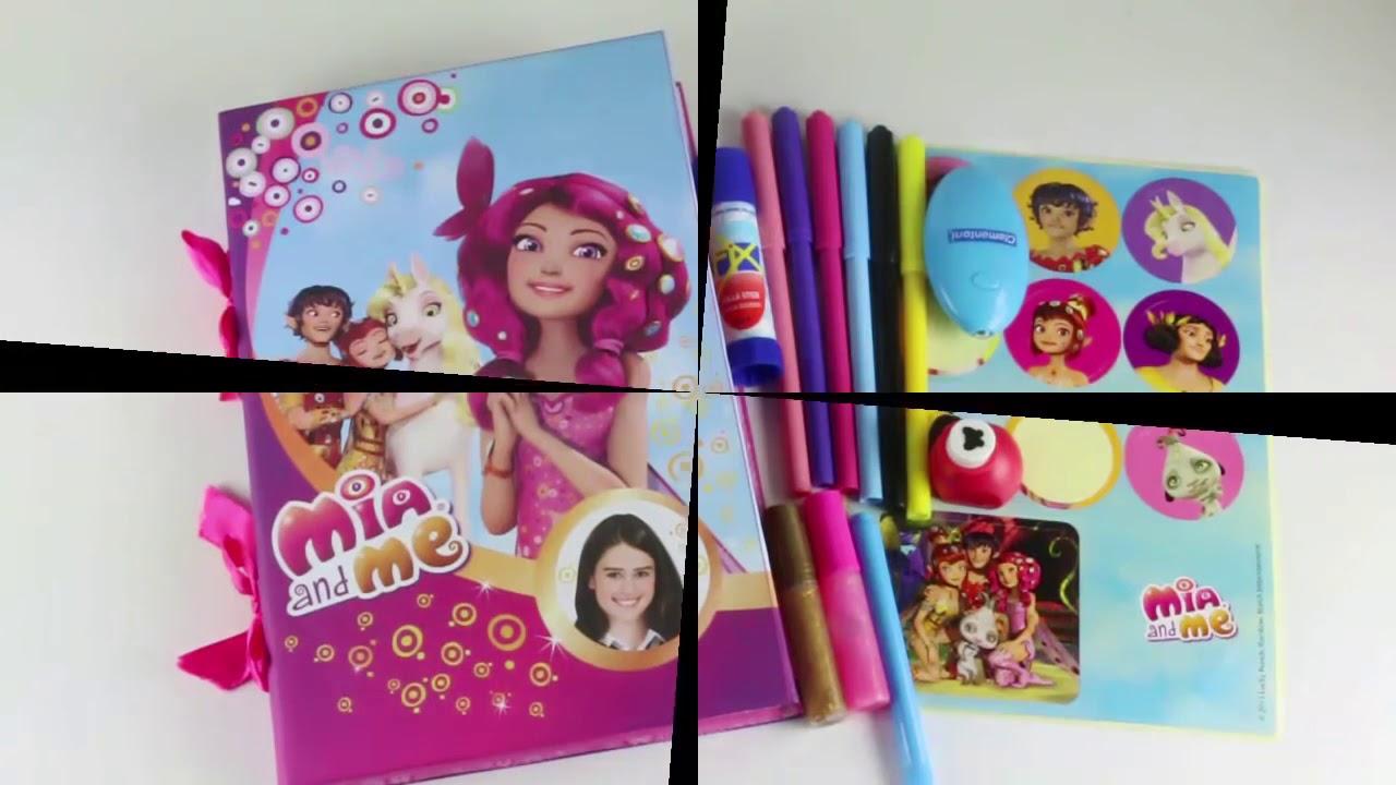 MIA AND ME diario magico de MIA Y YO juguetes creativos y manualidades Videos de juguetes