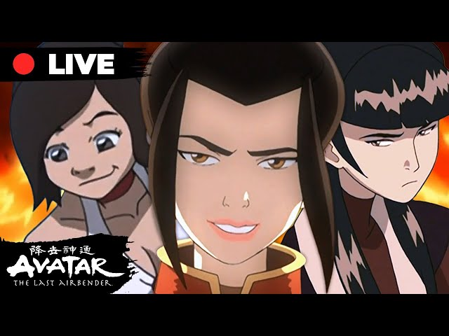 🔴 LIVE: Flaming Fire Nation Moments 🔥 Azula, Iroh, Zuko + More!   ATLA