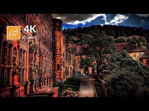 Heidelberg Castle - Walking Tour, Germany 4K UHD