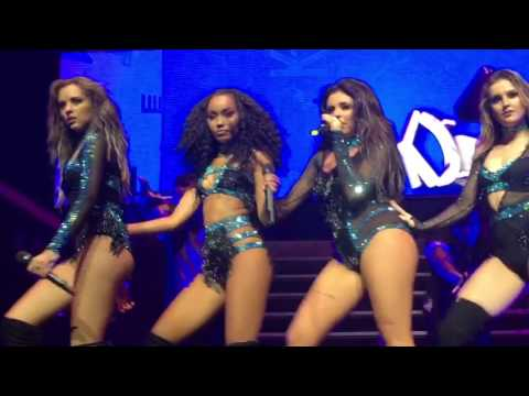 Little Mix - Black Magic + Cannonball - Live Paris 2016