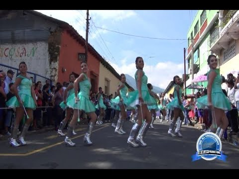 Desfile 15 de Septiembre 2017 Ahuachapan ,El Salvador [ Completo ]