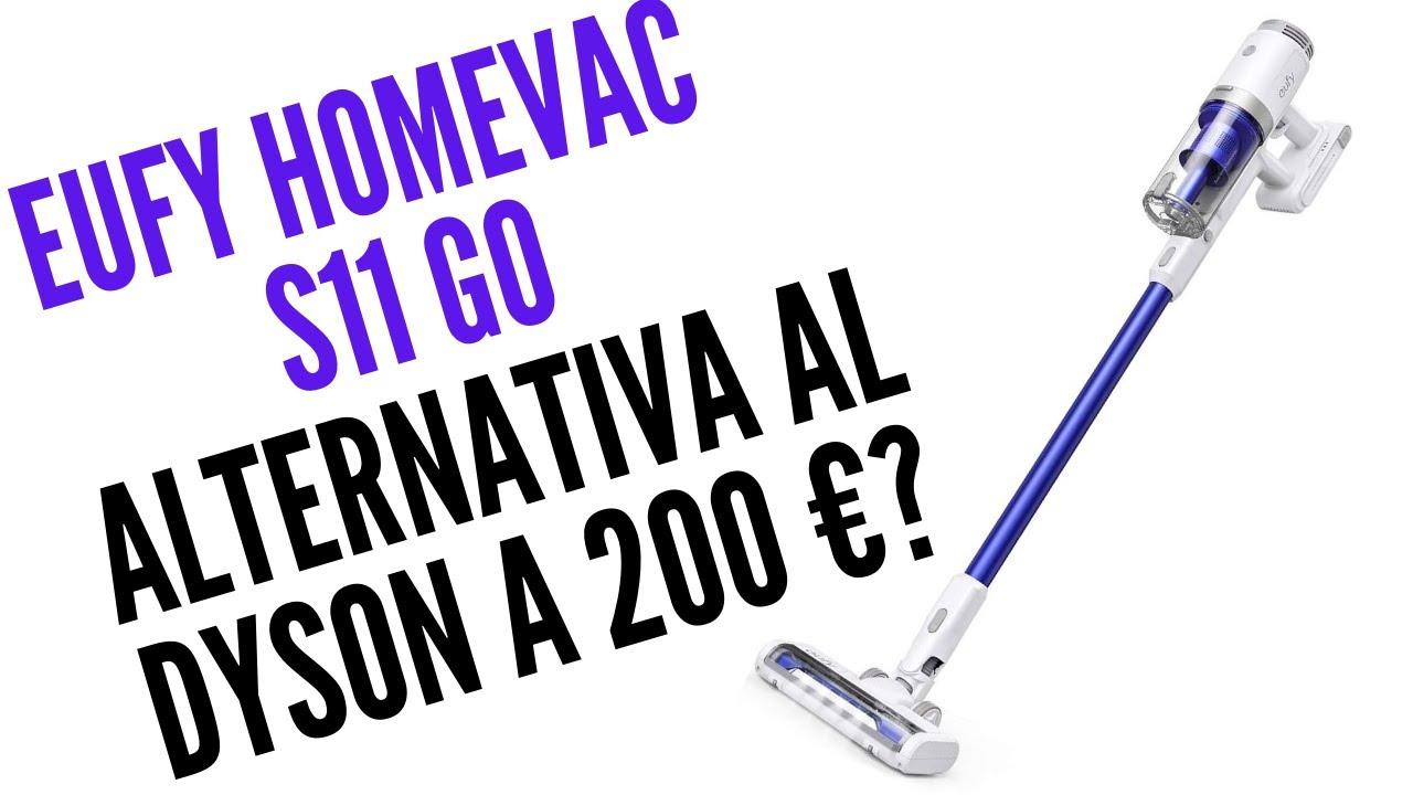aspirapolvere portatile senza fili per pulizia domestica potenza di aspirazione 5500/Pa ultraleggero 5,4/kg eufy HomeVac H11 ricarica USB