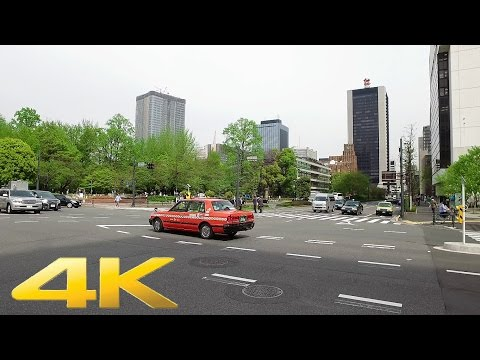Toranomon to Kasumigaseki, Tokyo on foot - Long Take【東京・虎ノ門/霞が関】 4K