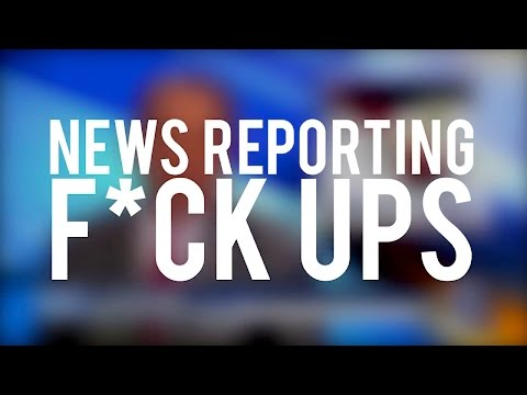 News Reporting F*ck Ups 2015 HD Bloopers, Funny Live TV Moments