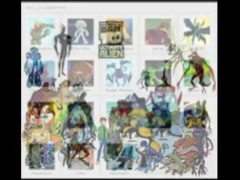 ben 10 aliens names youtube