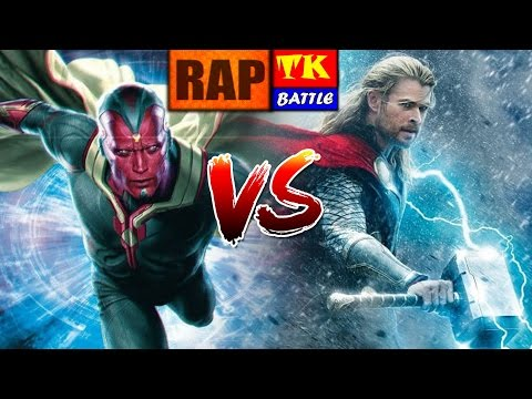 Rap do Thor Vs Visão // Feat - Canal Raplay // TK RAPS