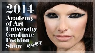 The MAC Makeup Look at the 2014 SF Academy of Art University Graduate Fashion Show