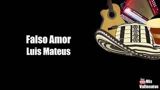 Falso Amor   Luis Mateus   Letra   Karaoke