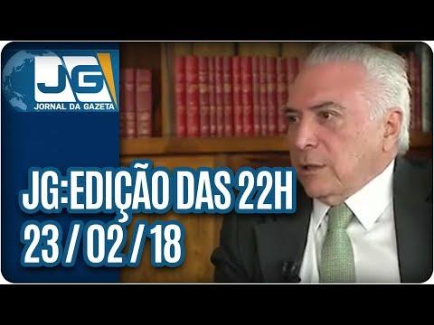 Jornal da Gazeta - Edição das 10 - 23/02/2018