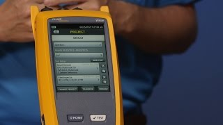 CertiFiber Pro OLTS Getting Started Video - Setup Part 1 By Fluke Networks