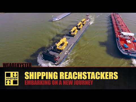 Hyster - Shipping Reachstakers